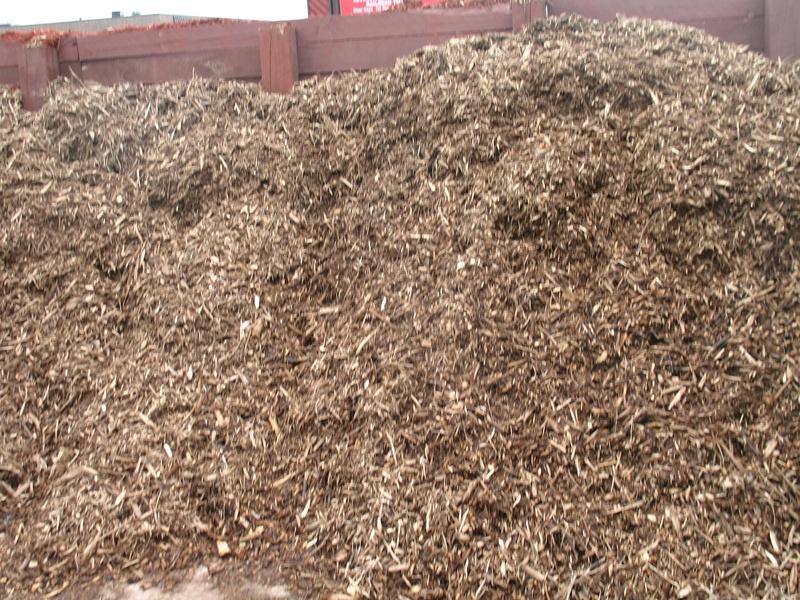 Natural Hardwood mulch